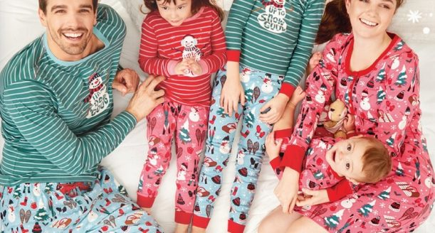 Kersttrui Matching.Kersttrend Matching Pyjama S Shepostsonline